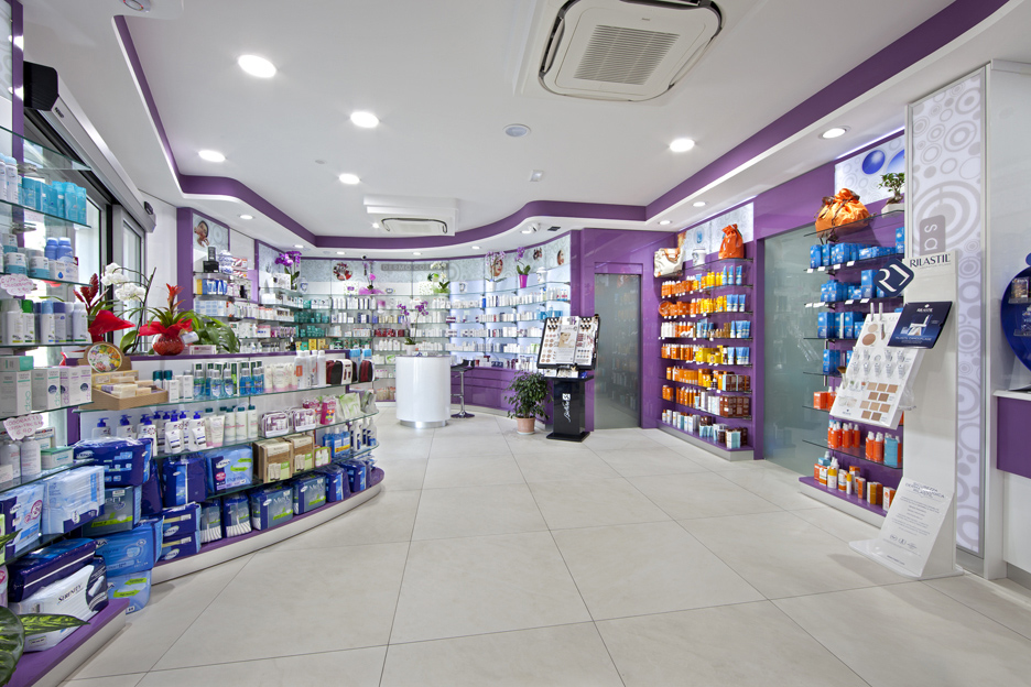 Arredo Farmacia Peccerella | Assortimento e category management | rdifarm