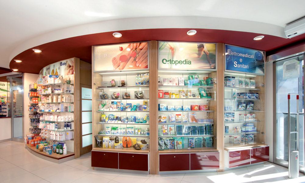 Arredo Farmacia Porzio | Category management sanitari | rdifarm