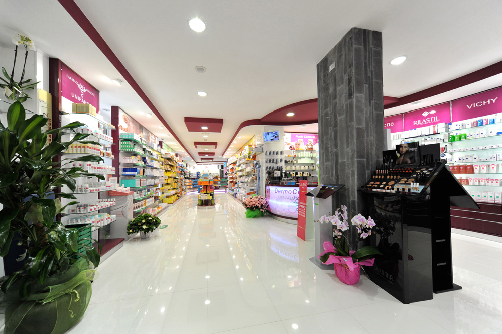 Arredo-Farmacia FG Lavarone - Design interni